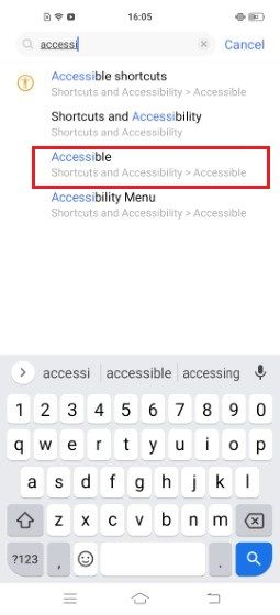 Google Talkback Accessible 091d0