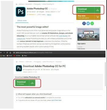 Cara Langkah Lengkap Mudah Download Photoshop Gratis Softonic Pilih Opsi Download D3d79