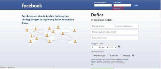Cara Mencari Akun Facebook Yang Hilang 8034c