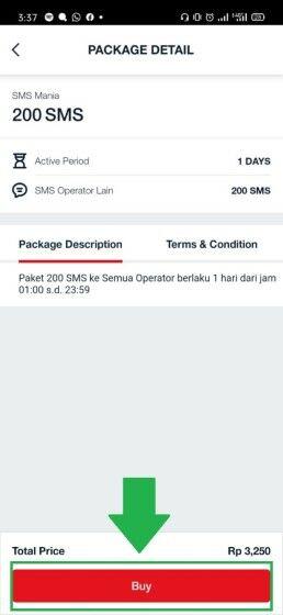 Paket Sms Telkomsel Loop Abf03