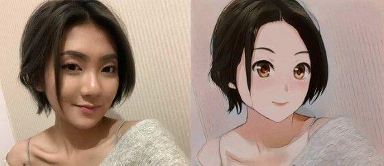 Cara Edit Foto Jadi Anime E0492