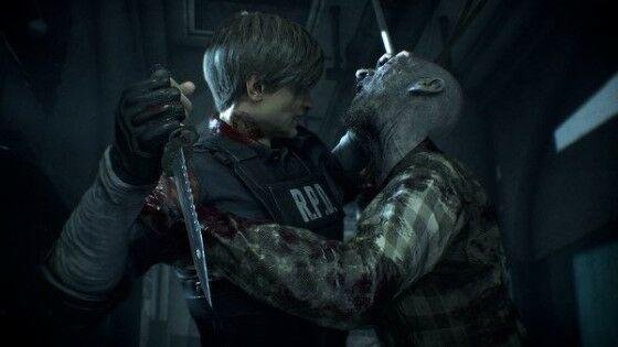 Zombie 4 Resident Evil 2 Remake Custom Fc54c