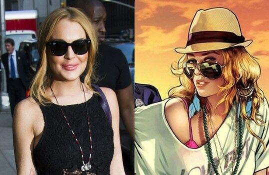 Lindsay Lohan Gta V Ad4d9