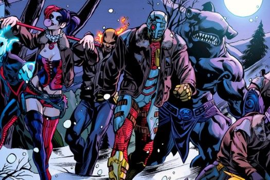 Suicide Squad Comic Book A47b1