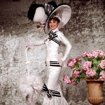 Gaun Audrey Hepburn A9097