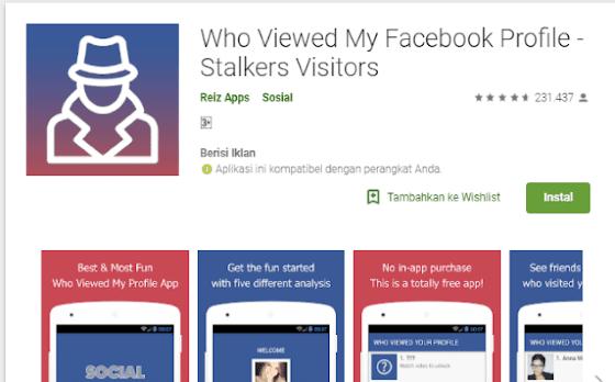 Cara Melihat Facebook Dilihat Orang 33a7b