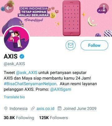 Lapor Axis Twitter B05ef
