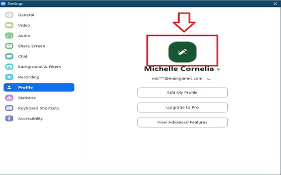Cara Mengganti Nama Dan Foto Profil Di Zoom PC Dan HP 12 2279e