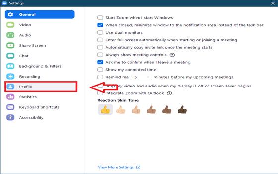 Cara Mengganti Nama Dan Foto Profil Di Zoom PC Dan HP 3 E1d37