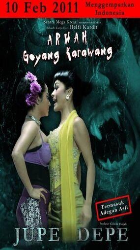 Film Indonesia Dengan Judul Paling Mesum Dan Konyol Arwah Goyang Karawang Ad098