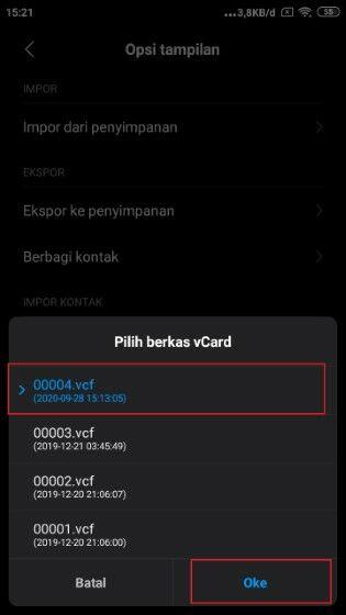 Cara Memindahkan Kontak Ke Gmail Fe5c8