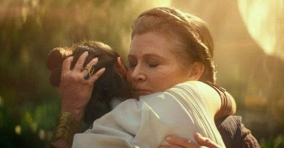 Star Wars 9 Leia And Rey 23a6e