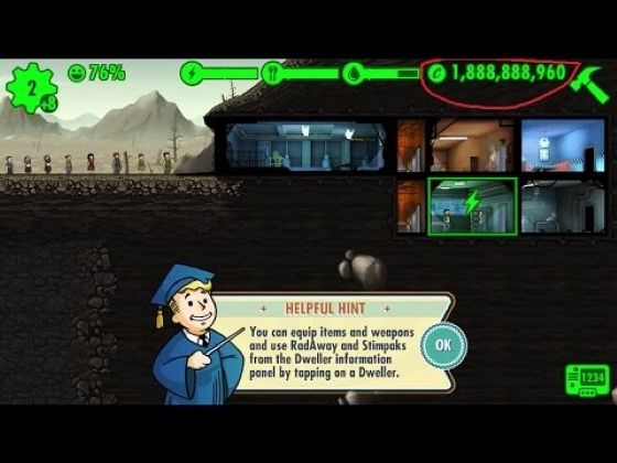 Fallout Shelter APK MOD 142b1