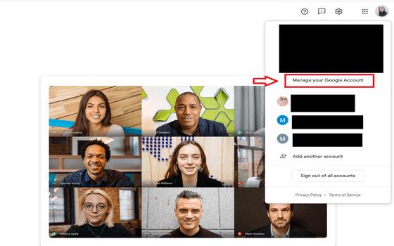 Cara Mengganti Nama Di Google Meet Di Pc Manage Your Google Account 56a44