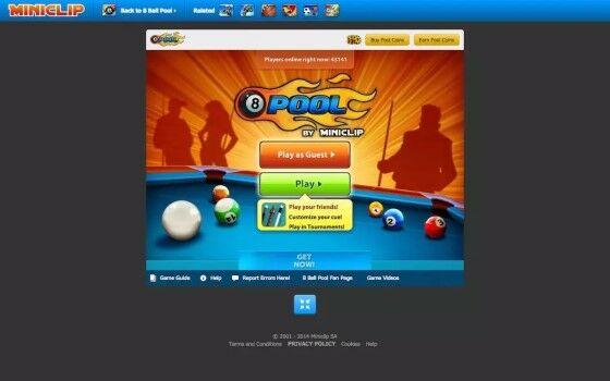 Game Online Billiard 8 Ball 3d09e