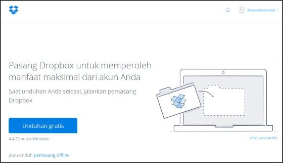 Cara Menggunakan Dropbox Di Gmail 0a77b