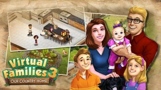 Download Virtual Families 3 Mod Apk Unlimited Money 781ff