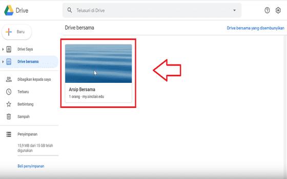 Cara Membuat Google Drive Unlimited Klik Arsip Bersama Sinclair 0fd01