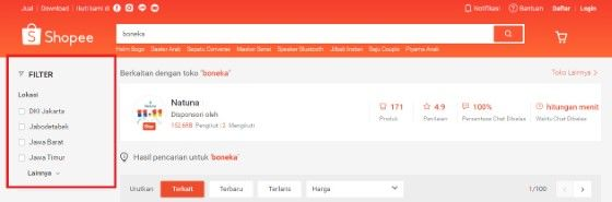 Nama Toko Tidak Muncul Di Pencarian Shopee 937ba