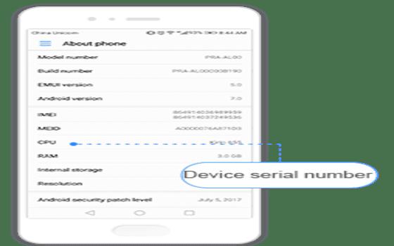 Cara Cek Garansi Huawei Nomor Seri A0de2