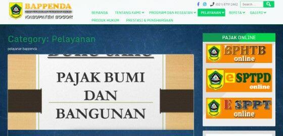 Cek Tagihan Pbb Online Bogor D906b