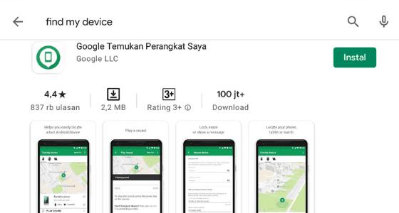 Cara Menggunakan Find My Device Pada Hp Android 62325