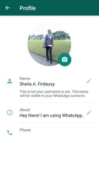Cara Mengganti Foto Profil Whatsapp 6ed42