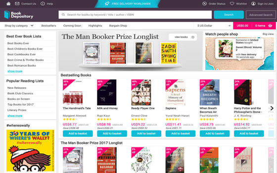 Situs Belanja Luar Negeri Gratis Ongkir Book Depository 621db