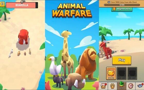 Download Animal Warfare Mod Apk Grafis Yang Menarik E785c