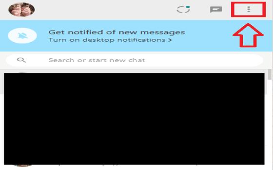 Cara Keluar Dari Whatsapp Web Klik Ikon Titik Tiga Di Sebelah Kanan Atas 119cf