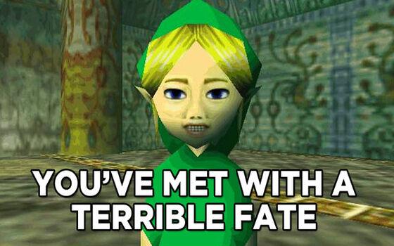 Mitos Paling Meresahkan Di Game The Legend Of Zelda 2f2ed