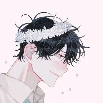Foto Profil WA Couple Flower Crown 1 C019b