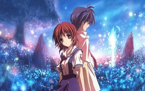 Gambar Anime Couple Keren Dan Romantis Terbaik Nagisa And Tomoya 30b1e