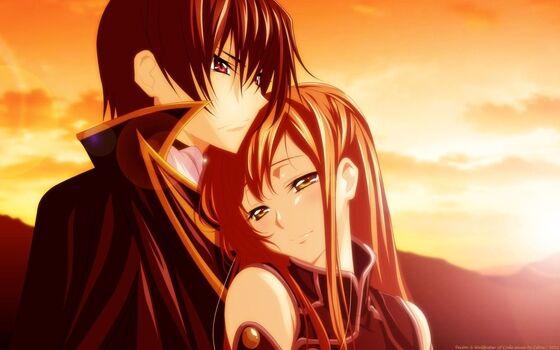 Gambar Anime Couple Romantis Lelouch Ebc6b
