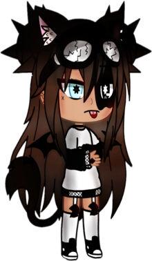 Gambar Gacha Life Keren Emo Wolf 39e71