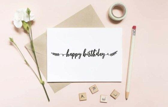 Ucapan Selamat Ulang Tahun Bahasa Inggris 3adf8