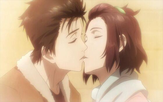 Gambar Anime Couple Romantis Satomi Ad169