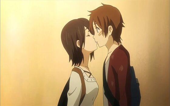 Gambar Anime Couple Romantis Taichi Ad54a