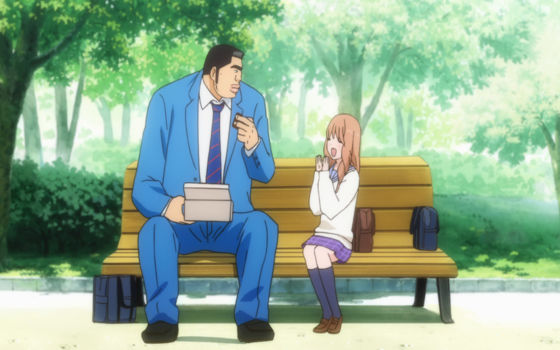 Gambar Anime Couple Sweet Takeo Ef58e