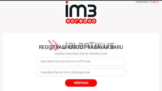 Cara Registrasi Ulang Kartu Indosat Ooredoo 84363