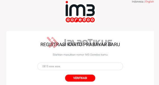 Registrasi Kartu Indosat Online Ca167