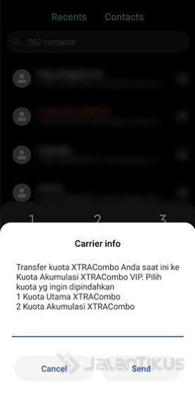 Cara Transfer Kuota Xl Xtra Combo Ke Nomor Lain 6b5da