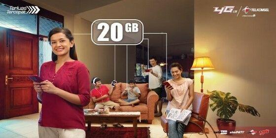 Trik Paket Internet Murah Telkomsel Aa155