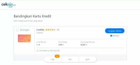 Cara Membuat Kartu Kredit Online Bri B86f9