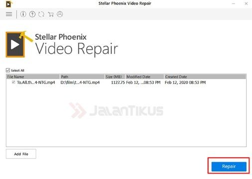 Cara Memperbaiki Video Terjadi Kesalahan 2bd55