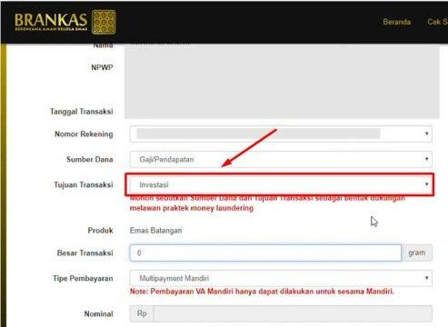 Cara Beli Emas Online Di Brankas Lm Custom B671c