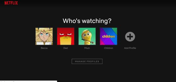 Netflix Sharing Account A8115