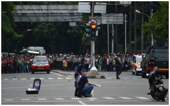 Teror Bom Di Indonesia Yang Paling Mengguncangkan Bom Thamrin B1005