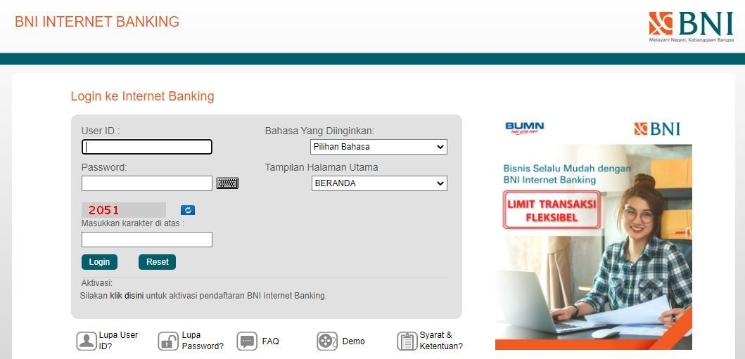 Internet Banking BNI 0a6be