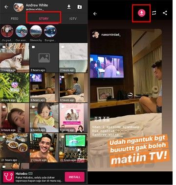 Cara Download Instastory 58e72